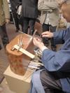 飯塚昇氏-銀煙管製作
